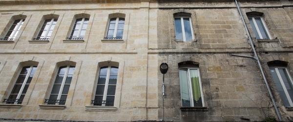 facade noircie