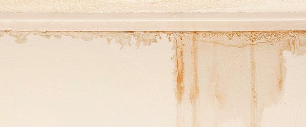 fuite eau mur