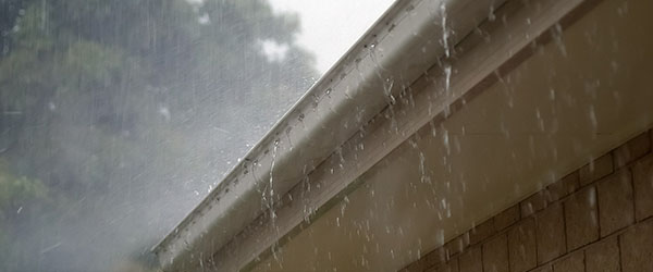 gouttiere pluie deborde