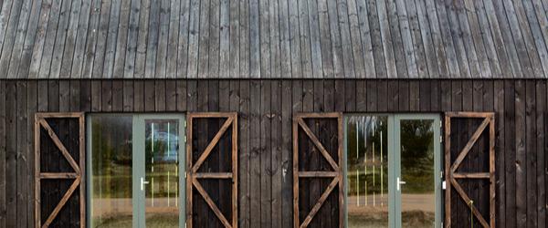 maison facade bois brule 1