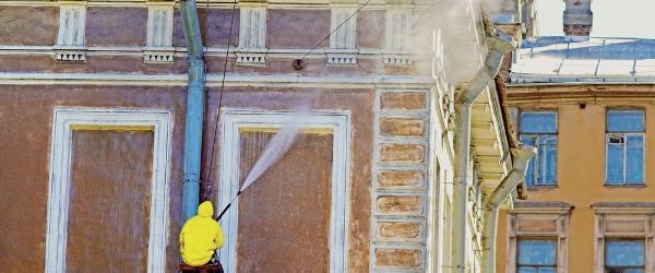 nettoyeur haute pression facade
