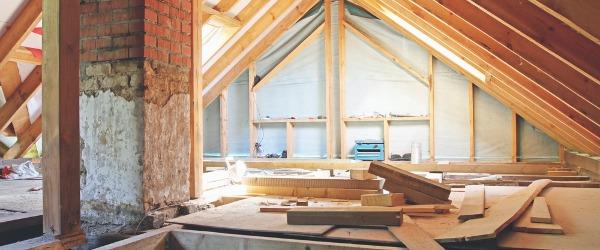 renovation plancher combles